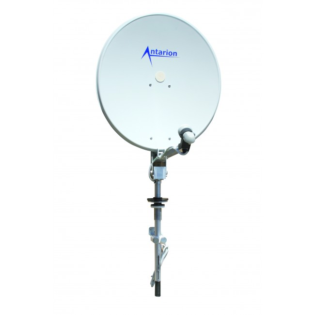Antenne satellite antarion pour camping car univers for Antenne satellite interieur