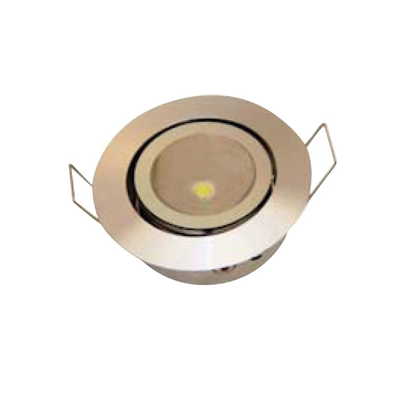 Spot orientable 1 led spots eclairage int rieur for Eclairage interieur spot
