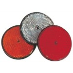 Catadioptre Rond / rouge