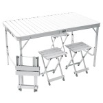 Table valise de camping