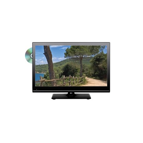 "TELEVISION 22"" LED DVD HD DALLE INVERSEE"